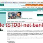 How to Register/Activate IDBI Bank Net Banking Online