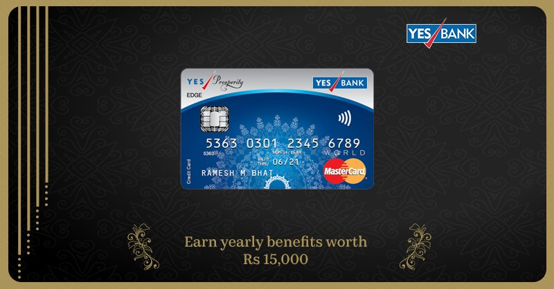 YES Bank Credit Cards – Types, Features, Benefits and Eligibility